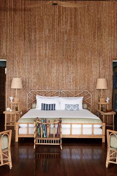 A bamboo beach house designed by Veere Grenney