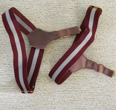 Socks falling down? Strap on these sexy bad boys and you'll never find yourself pulling at your ankles again. Good vintage condition with some light tarnish on hardware. Man Outfit, Vintage Underwear, Fashion Beauty, Mens Fashion, Men's Socks, Suspenders, Garter, Clothing Ideas, Winter Style