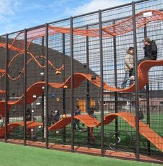 playground equipment images | CARVE: Playground Equipment of the Future · Ziger/Snead Architects