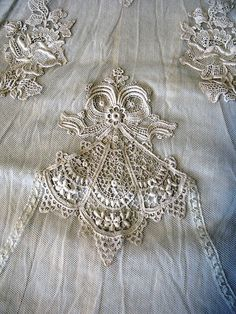 Lace motif by TrystBat, via Flickr