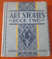 Art Stories Vintage Book Two 1934 correlates with Dick & Jane