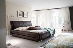 Bolzano brązowe łoże tapicerowane 180x200