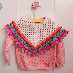 Ak at home: * crochet poncho