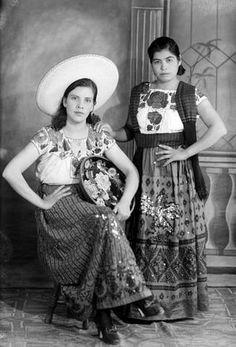 Chicas del mexico viejo