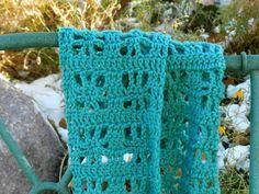 Free Crochet Pattern: Cube Infinity Scarf- Grow Creative~Free pattern