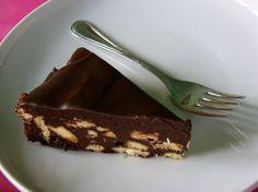 Csokis keksztorta (sütés nélkül)