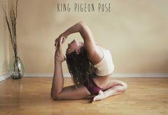 King Pigeon Pose ♡ #Yoga
