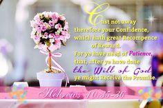 Hebrews 10:35-36 KJV