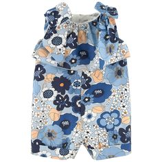 This item draws inspiration from the woman's range Cotton poplin Percale lining Loose fit hips Crew neck Sleeveless Invisible zipper at the back Fancy bows Fancy flounces Flower print Embroidered brand - $ 273