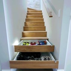 Amazing shoe storage idea! Where do you, dear shopaholics, store your shoes?