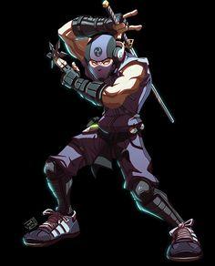 Ninja Character Design by Javas on DeviantArt Character Design References, Character Art, Ninja, Elemental Powers, Medieval, Deviantart, Character Design Inspiration, Pose Reference, Art Tutorials