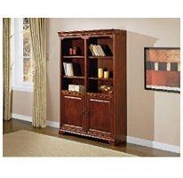 Whalen Furniture Regency Double Bookcase W Door Sam S Club