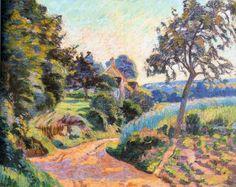 Armand Guillaumin - Paysage de l'Ile de France