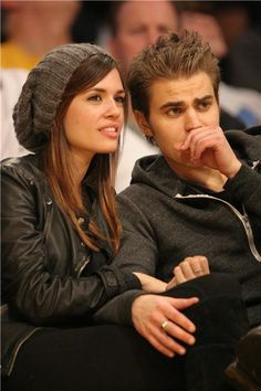 Paul Wesley & Torrey Devitto. I keep forgetting they were married.
