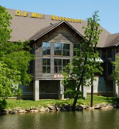 Old Mill Restaurant in Pigeon Forge, TN.  There are a couple restaurants in this area and some great shops.  (ice creamery, candy and fudge shop, general store, pottery shop…)