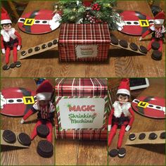 Elf on the shelf magic oreo shrinking machine
