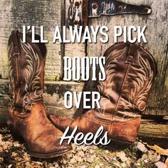 I'll always pick boots over heels