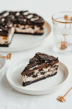 OREO CHEESECAKE – Jennifer Krijnen – Oreo Cheesecake Related Post And for dessert 's liqueurs: Trifle with Baile. Cheescake Oreo, Oreo Torte, Oreo Cheesecake Recept, Caramel Cheesecake, Chocolate Cheesecake, Chocolate Ganache, White Chocolate, Cookies Oreo, Cupcakes Oreo