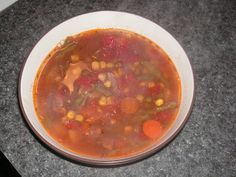 Crock-Pot Beef Vegetable Soup
