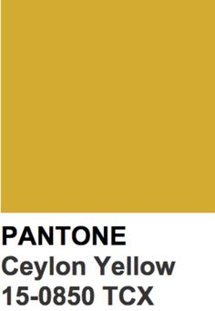 Ceylon yellow Yellow Pantone, Pantone Color, Red Pear, Pink Peacock, 2018 Color, Yellow Fashion, Winter Colors, Golden Yellow, Color Swatches
