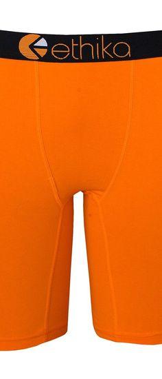 ethika The Staple Nation Boxer Brief (Orange) Men's Underwear - ethika, The Staple Nation Boxer Brief, UMS242-ORG, Apparel Bottom Underwear, Underwear, Bottom, Apparel, Clothes Clothing, Gift, - Street Fashion And Style Ideas