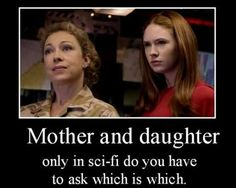 Mother or daughter?