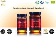 Cretan organic thyme honey Toplou