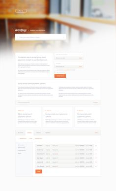 eventpay free website template