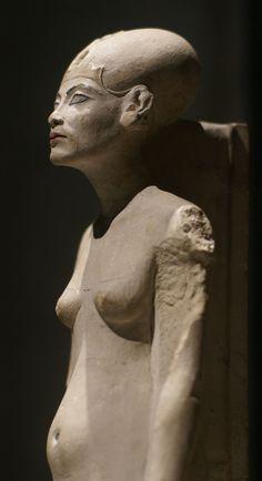 Berlin (standing/striding figure of Queen Nofretete) Amarna