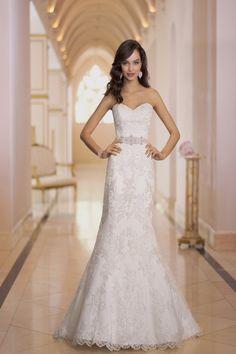 Wedding gown by Stella York