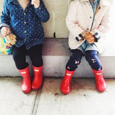 Seven Graces: Currently Confessing | Vol. 27...Coffee Date & a Recipe // Toddler Fashion. Toddler Hunter Boots.