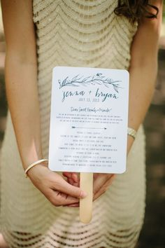 #Programs | See this Casual Walnut Orchard Wedding on SMP: http://www.StyleMePretty.com/2014/02/05/casual-walnut-orchard-wedding/ Abi Q Photography