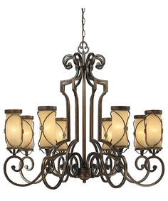 bronze dining room light. Minka Lavery Atterbury 36 Inch Wide 8 Light Chandelier  Dining Room ChandeliersBronze Trans Globe Yorktown 15 in Antique Bronze 3965