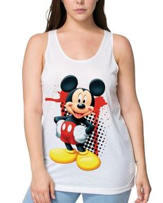 Mickey Mouse, Animation, Tank Tops, Instagram Posts, Clothing, T Shirt, Women, Products, Fashion
