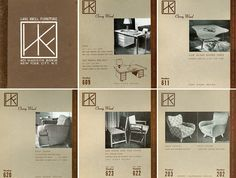 The original product catalogue for Hans G. Knoll Associates | PC: Knoll Archive | Knoll Inspiration