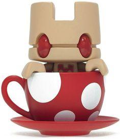 Mini Tea - Shroom   Artist: Matt Jones (Lunartik)