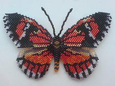 Мельпомена. Еще одна бабочка по схемам Бушевой Н.