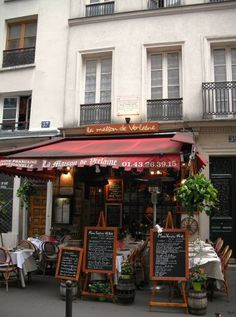 """rue Descartes - Paris 5ème ... """"La Maison de Verlaine"""""""