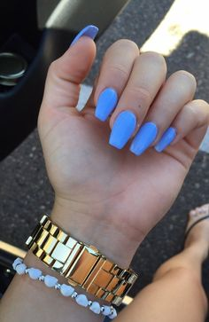 20 Blue coffin nails 2018