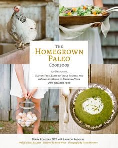 Homegrown Paleo Cookbook | Diana Rodgers | #paleo #glutenfree | http://www.ourfourforks.com/potato-cakes