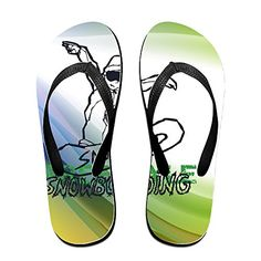 2b3165b66a96 Shehe Snow Boarding Unisex Fashion Beach Flip-flops Slippers   Details can  be found   Outdoor sandals