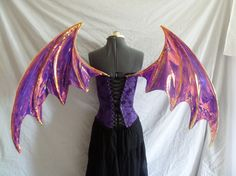 Custom order for Large Dragon Bat Cosplay wings - 176.80 - Etsy.com - TheFancyFairy