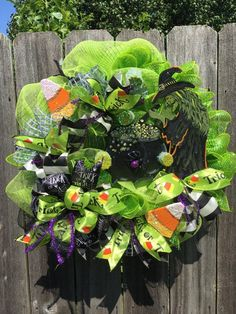 #etsy #witch #green #caldron #sign #handpainted #halloween #october #mesh #wreath #halloweenwitchwreath #oneofakind #halloweendecor #home #diy #holidaze #halloweendecorations #halloweenparty #candycorn #witchesbrew #potion #madebyholidaze #trickortreat #kids #meshwreath #bows #ribbons #handpainted #limegreen #black #google