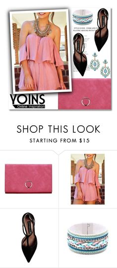 """""""Yoins #15"""" by aida-nurkovic ❤ liked on Polyvore featuring Steve Madden, polyvoreeditorial, polyvorefashion, polyvoreset and yoins"""