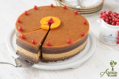Tort raw de caise si ciocolata - Arome de poveste Vegan Cheesecake, Raw Vegan, Mango, Healthy Recipes, Cooking, Desserts, Food, Cakes, Drink