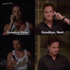 Neal and Peter. White Collar