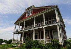 Old Slave House, Gallatin Co., IL.