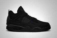 low priced 61114 c8194  AirJordan IV « Black Cat » Belle Chaussure, Chaussures Homme, Mode Homme,