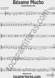 Bésame Mucho Partitura de Oboe Sheet Music for Oboe Music Score Trombone Sheet Music, Alto Sax Sheet Music, Saxophone Music, Piano Sheet Music, Piano Score, E Piano, Music Score, Oboe, Cello Noten