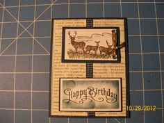 masculine by muscrat - Cards and Paper Crafts at Splitcoaststampers
